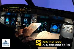 A320 Type Rating Course - Habilitación de tipo A320