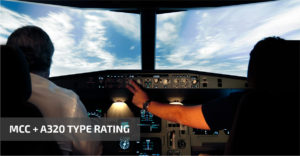 MCC + A320 TYPE RATING