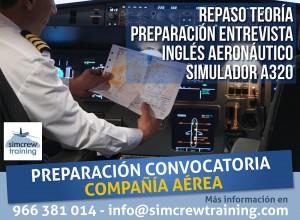 Preparación Convocatoria Compañía Aérea
