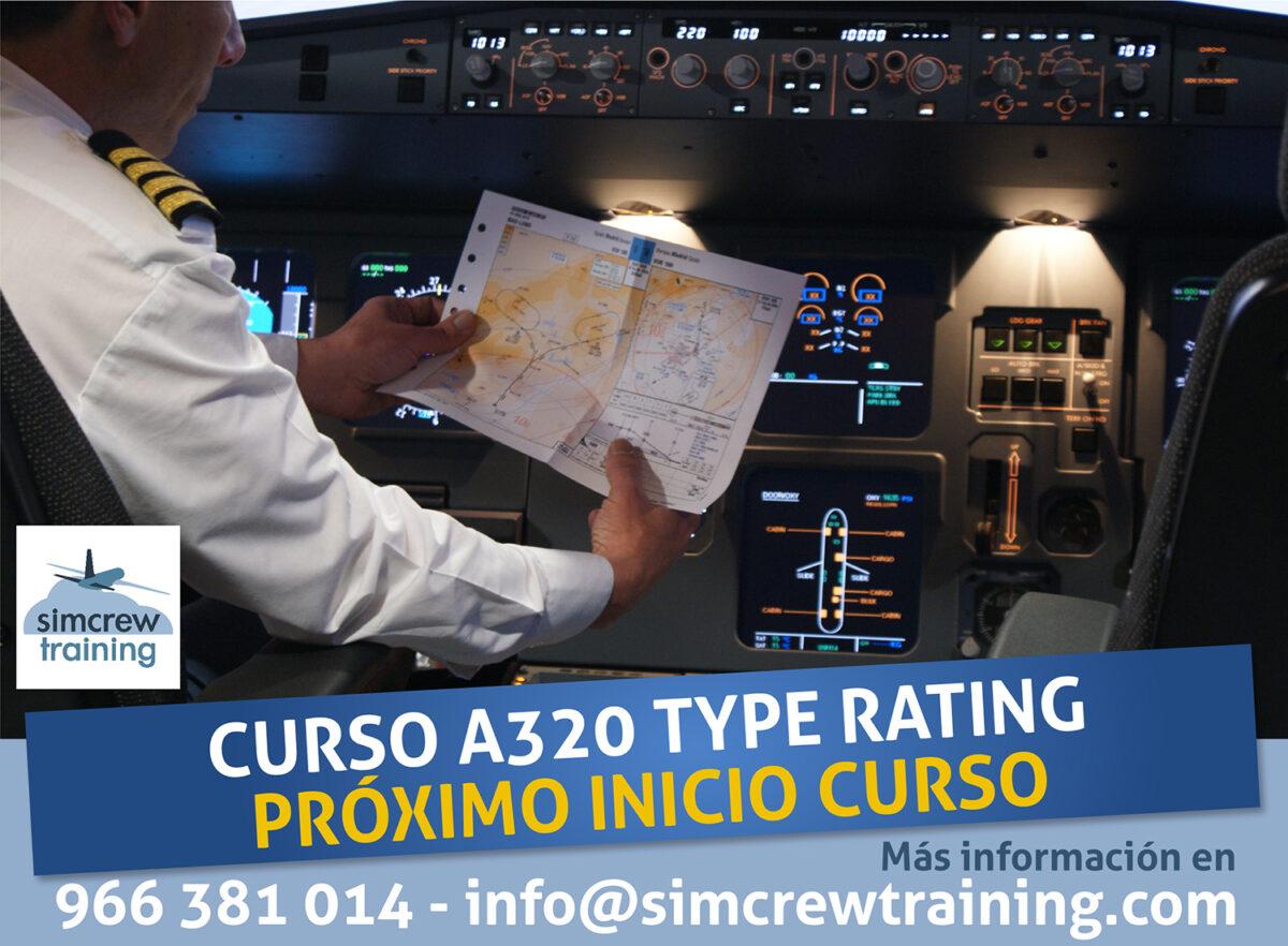 A320 Type Rating - Habilitación de Tipo A320 - Simcrew Training